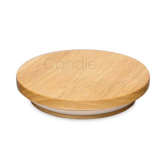 120mm Natural Wood Lids