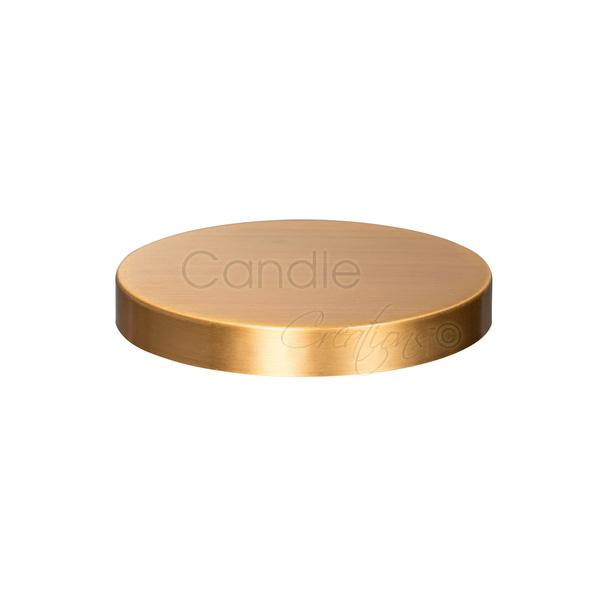 54mm Brushed Gold Lid