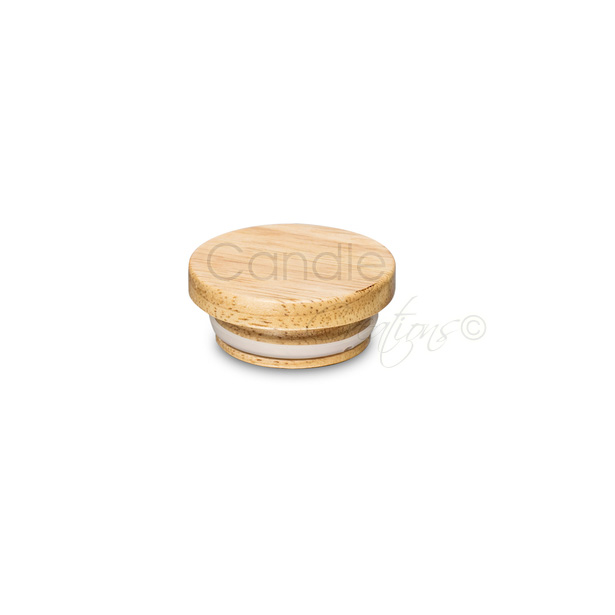 58mm Natural Wood Lid