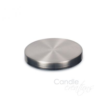 74mm Brushed Nickle Lid