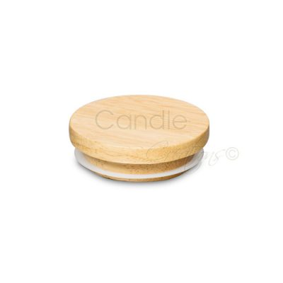 77mm Natural Wood Lids