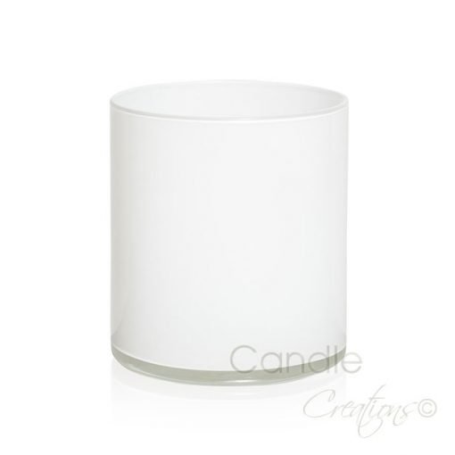Cylinder Jar 852 Gloss White