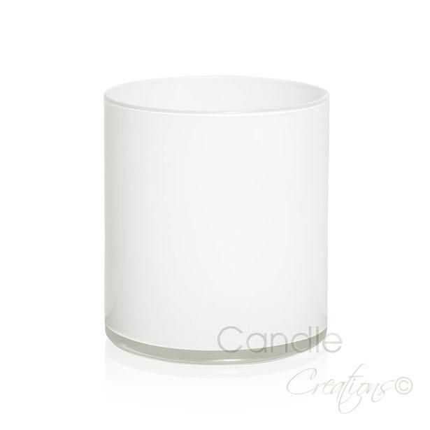 Cylinder Jar 852 Gloss White