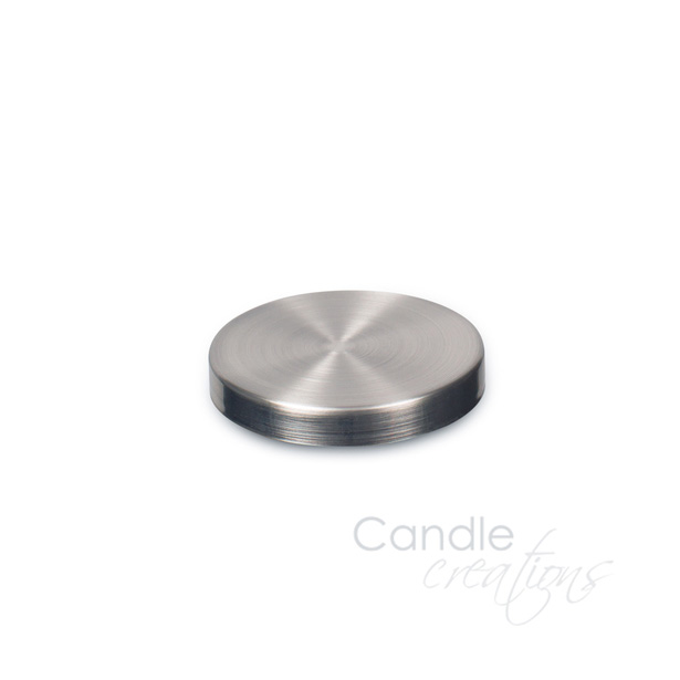 Brushed Nickle Lid