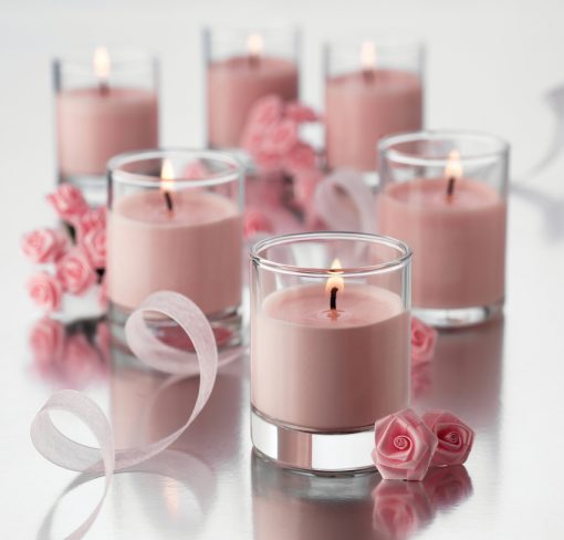 Libbey Votive 763 Dressed for Wedding Favours