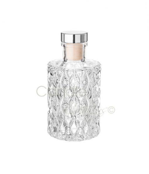 Round Diamond Design Diffuser Jar