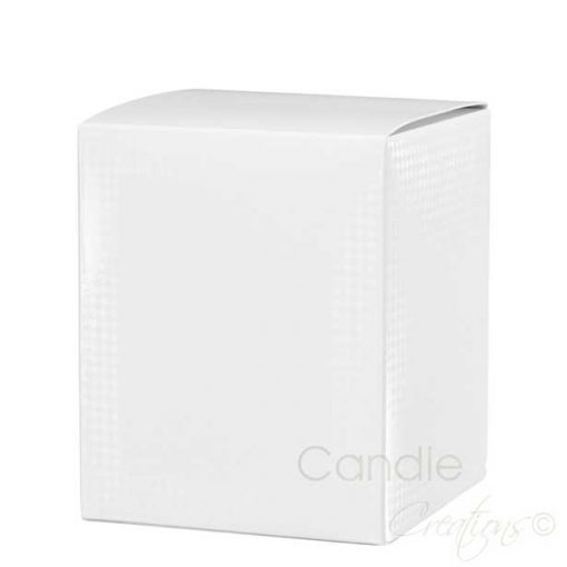 White Candle Retail Box Large