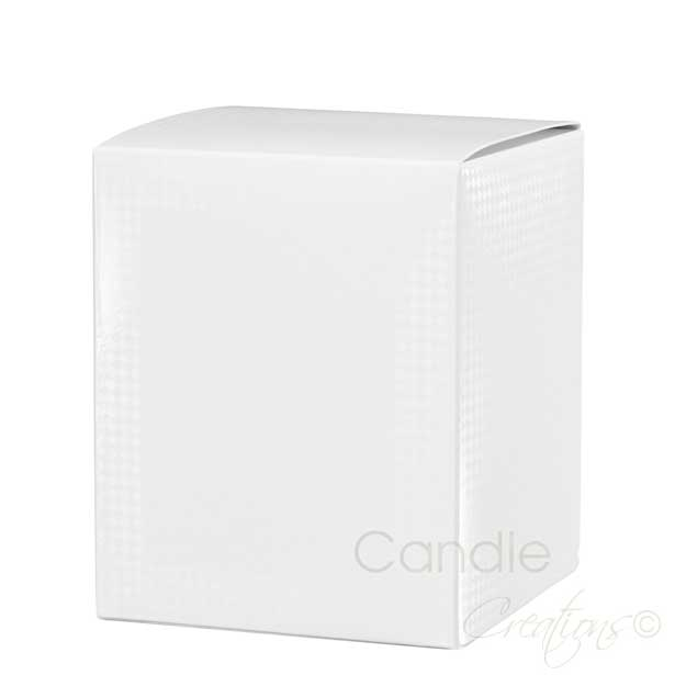 White Candle Retail Box Large