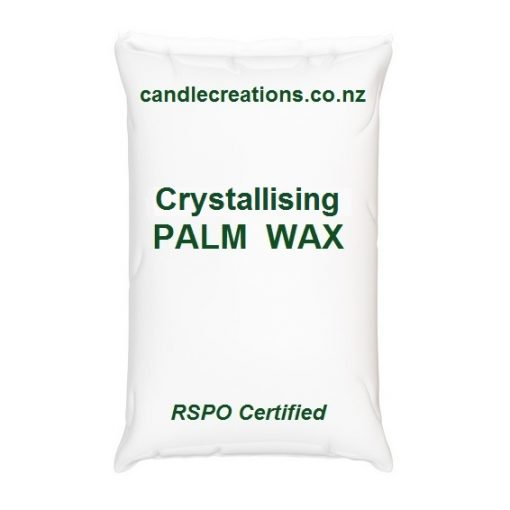 Crystallising palm wax