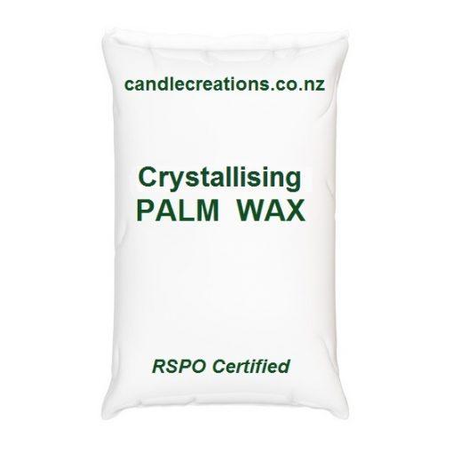 Crystallising palm wax