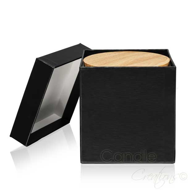 Black Gift Box Large