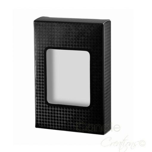 12 Pack Black Tea Light Box for 9 hour