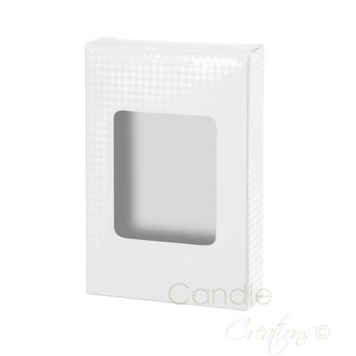 Tea Light Gift Box White
