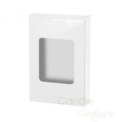 Tea Light Gift Box White 6 Pack