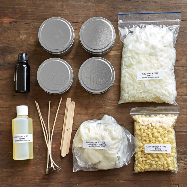 Massage Candle Making Kit