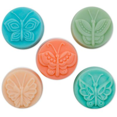 Butterfly Design Guest Soap Mold