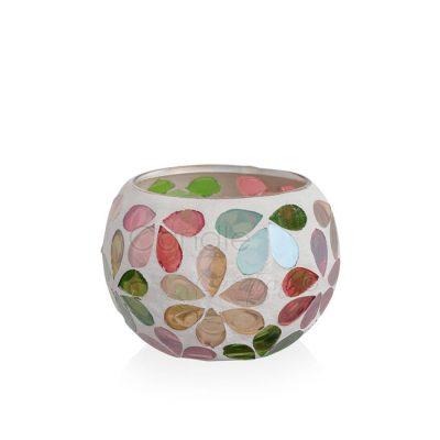 Mosaic Jar Daisy