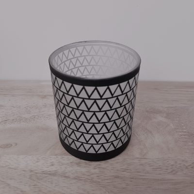 Chevron Candle Jar