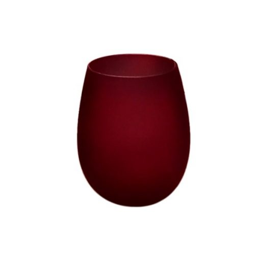 Renee Jar Frosted Red