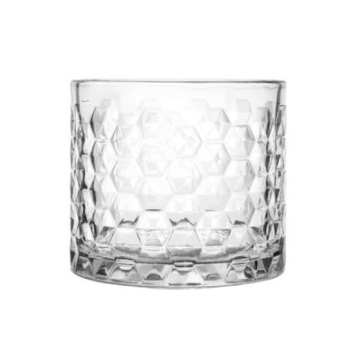 Libbey Hexagon Candle Cylinder Jar
