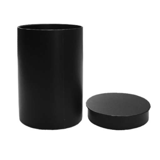 Black Cylinder Gift Box