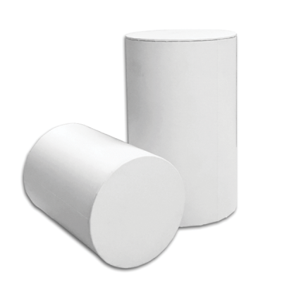 Large White Cylinder Gift Box