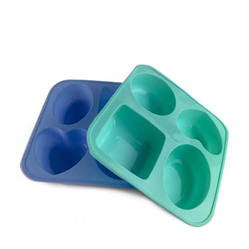 4 x Soap Cavity Silicone Mold