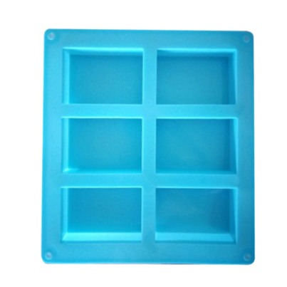 6 Cavity Soap Mold