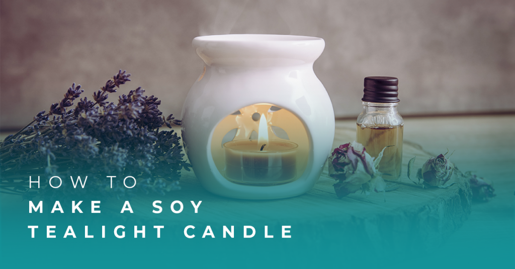 How to Make a Soy Tealight Candle