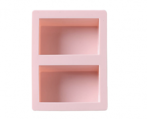 Pink Soap Mold 2 cavity