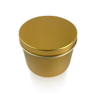 Gold Candle Tin