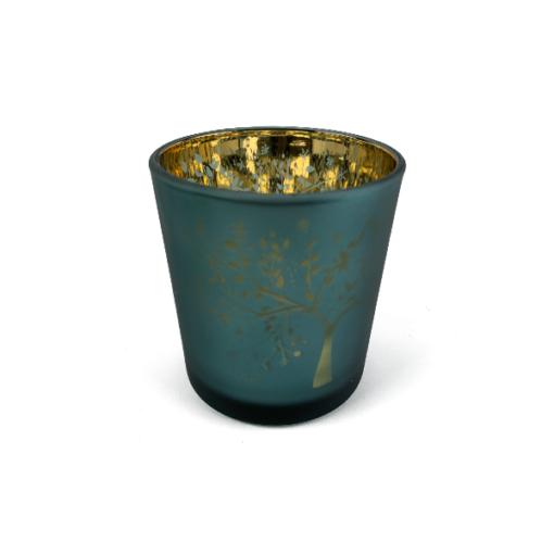Blue Tree Jar
