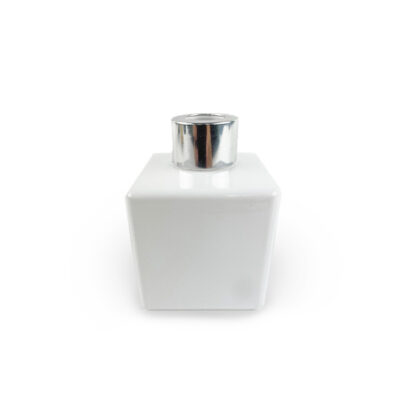 Glossy White Diffuser Jar