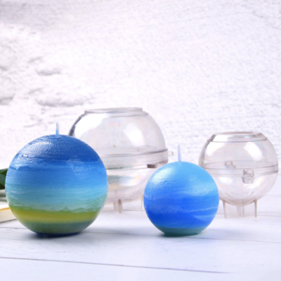 Sphere Candle Pillar Mold