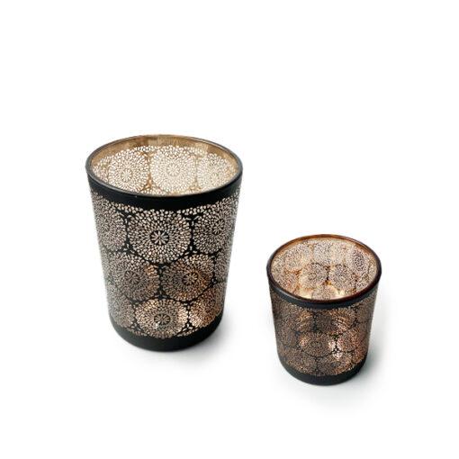 Peace Mandala Candle Jar
