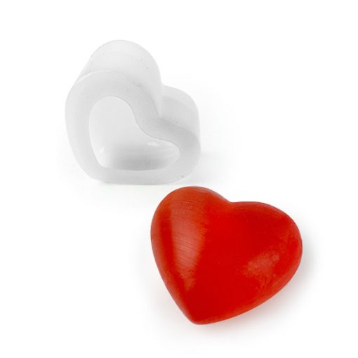Heart 3D silicone mold