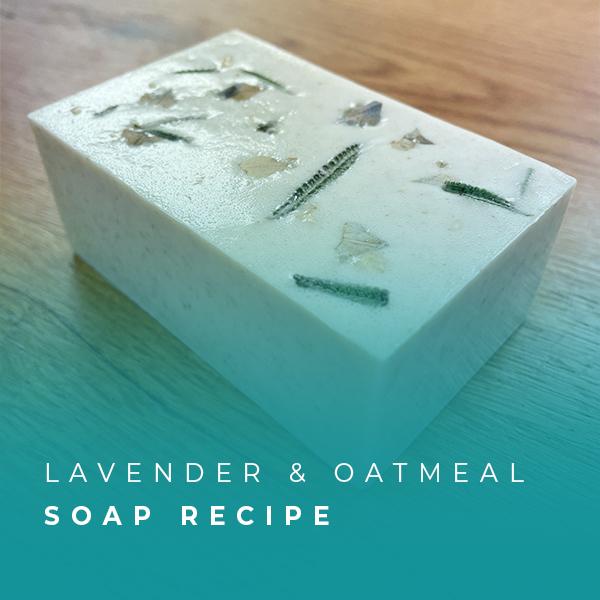 Lavender & Oatmeal Soap Recipe