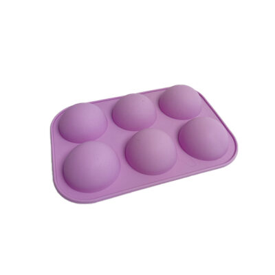 Half Sphere silicone soap molds